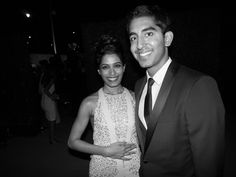 Freida Pinto and Dev Patel head to toe Ferragamo at the Wallis Annenberg Center for the Performing Arts Inaugural Gala in Beverly Hills. Discover more at www.hollywood.ferragamo.com