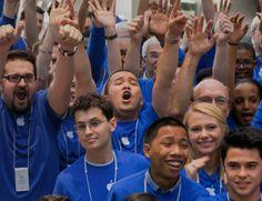 Apple employee diversity