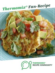 Corn and Zucchini Fritters by SarahBrewer. A Thermomix ® recipe in the catego. Corn Fritter Recipes, Corn Recipes, Baby Food Recipes, Great Recipes, Cooking Recipes, Recipes Dinner, Dinner Ideas, Thermomix Recipes Healthy, Vegetarian Recipes