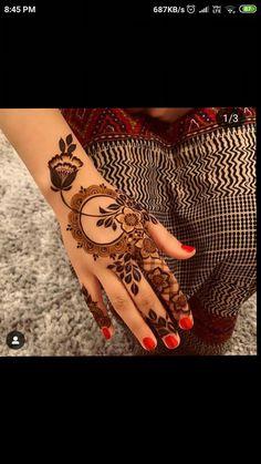 Round Mehndi Design, Mehndi Designs 2018, Modern Mehndi Designs, Mehndi Design Pictures, Beautiful Henna Designs, Indian Henna Designs, Finger Henna Designs, Bridal Henna Designs, Henna Tattoo Designs