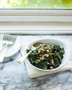 Make-Ahead Lunch Recipe: Chopped Kale, Farro & Chickpea Salad