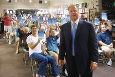 "'JT THE BRICK' AT WARWICK'S FOX Sports Radio's John ""JT The Brick"" Tournour stopped by Warwick's Books in San Diego, Calif. on August 20 to meet fans and sign copies of his book 'The Handoff: A Memoir of Two Guys, Sports and Friendship.'"