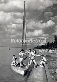 Balaton-retro Budapest Hungary, Vintage Photos, Past, History, Country, Iron, Holidays, Inspiration, Beautiful