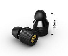 Die kleinsten Kopfhörer der Welt! Und das kabellos und mit trotzdem sattem Sound. Wer jetzt schon richtig heiß ist, muss
