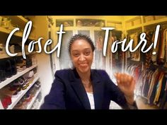 What's in Tia Mowry's Huge Walk In Closet?! - YouTube