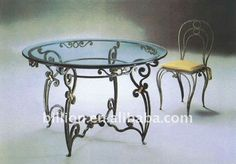 wrought iron dining chairs - Google Search