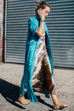Yes!  I love fabrics that feel good. Jekyllhyde.us     Silks and Kimonos