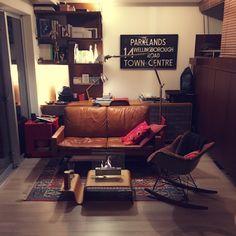 Yoheiさんの、部屋全体,hhstyle.com,サザビーライトスタンド,Artemideのスタンドライト,ボビーワゴン,イームズアームシェルチェア,イームズロッキングチェア,ミッドセンチュリーモダン,PK31ジェネレート,マリメッコクッションカバー,卓上暖炉,バスロールサイン,キリムラグ,のお部屋写真
