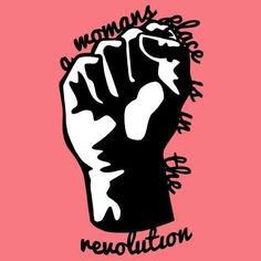 'A Woman's Place is in the Revolution' paper cut print feminist art feminist poster feminist art print Feminist Af, Feminist Quotes, Feminist Apparel, Die Revolution, Protest Signs, Protest Art, Political Signs, Political Art, Smash The Patriarchy