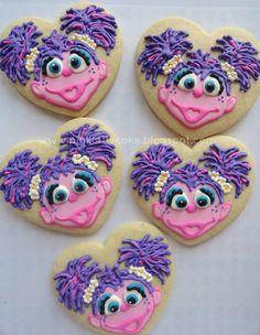 Pink Little Cake: Abby Cadabby Cookies