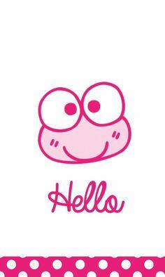 Wallpaper Backgrounds, Iphone Wallpaper, Pink Wallpaper, Keroppi Wallpaper, Frog Princess, Favorite Cartoon Character, Hello Kitty Wallpaper, Preschool Crafts, Sanrio