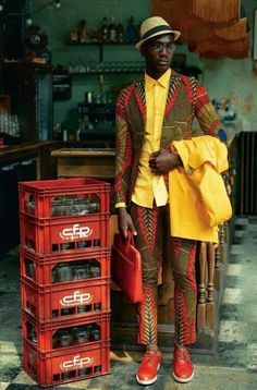 Menswear subculture of Africa