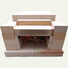 耐火レンガ製家庭用ミニ石窯キット