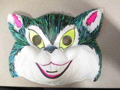 halloween mask MISCHIEF CAT Cinderella ? (1 item unused) Cat Mask, Halloween Masks, Vintage Children, Vintage Antiques, Cinderella, Disney Characters, Fictional Characters, Best Deals, Toys