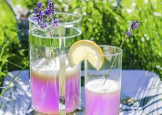 Lavendel limonade .