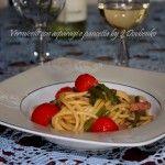 Vermicelli+con+asparagi+e+pancetta
