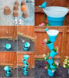 DIY garden ornament