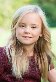 Princess Ariane, December 2014 (7 years old)