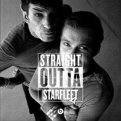 Straight Outta Starfleet