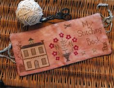 Stacy Nash Primitives - My Stitching Book [SNP131492] - $12.00 : Laurels Stitchery, The best little stitchery shop on the internet!