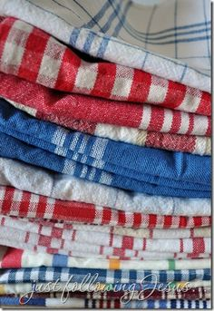 Fresh country linens