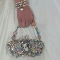 This bag is perfect for your spring wedding.