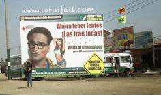 Leonard en anuncio de municipalidad de Ventanilla - The Big Bang Theory en Perú - Johnny Galecki #TBBT