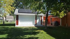 Harvey Garage with Solar Panels
