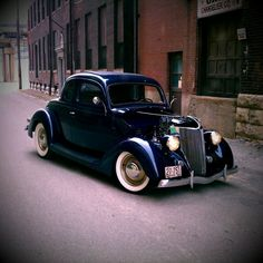 My Dad had a 1936 Ford Coupe his first car back in the '40s.