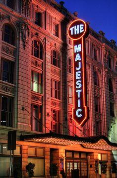 The Majestic, downtown Dallas. I use to go to the movies here as a kid and the Palace theater also.