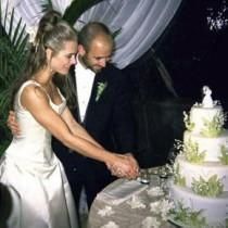 Andre Agassi And Brooke Shields Wedding Photos