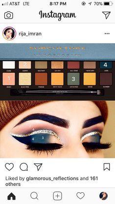 Subculture pallet by Gorgeous Makeup, Love Makeup, Makeup Inspo, Makeup Art, Makeup Inspiration, Beauty Makeup, Make Up Palette, Makeup Eye Looks, Skin Makeup