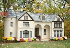 This is a playhouse?!  Everything sold on this site is amazing.