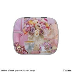 Shades of Pink Candy Tin