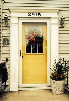 :: Yellow Door ::