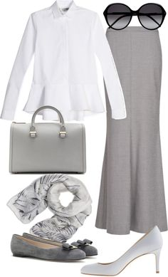 """work modesty"" by ilsiyar on Polyvore"
