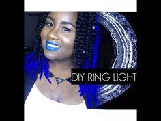 DIY RING LIGHT - w/ MIRROR  (& Giveaway Talk)
