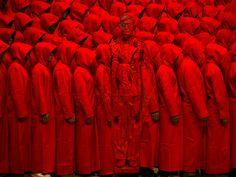 Red by Liu Bolin in Beijing