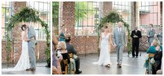 Wedding Ceremony - The Foundry at Puritan Mill - Ardent Photography