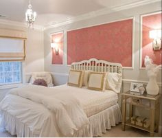 Here are some interesting girls bedroom decor ideas. Get some amazing ideas for your princess room, have a look at some of these lovely girls bedroom decor. Bedroom Frames, Wood Bedroom, Bedroom Decor, White Bedroom, Bedroom Ideas, White Bedding, Bedroom Inspiration, Wall Decor, Shabby Bedroom