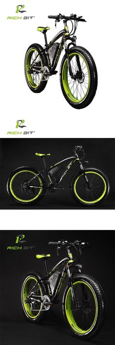 bb7ab76fcd9 RichBit Ebike New 21 speeds Electric Fat Tire Bike 48V 1000W Lithium  Battery Electric Snow Bike 17AH powerful Electric Bicycle -in Electric  Bicycle from ...