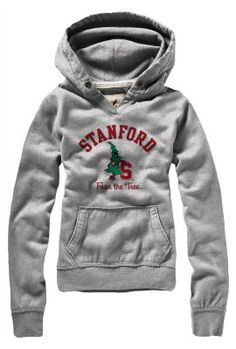 """Stanford University 'Fear The Tree' Women's Hooded Sweatshirt. Last week I drew a tree and wrote, """"fear the tree"""" on the chalkboard at homeschool group. I wish that more people understood!"""