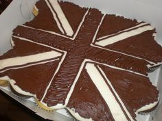 Union Jack in monochocmatic