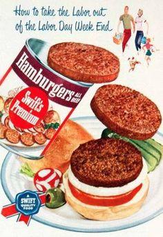 Swift's Canned Hamburgers! by earline