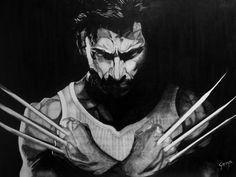 "TERMINATOR (1984) Graphite pencil on wood 45 x 60 cm / 18""x24"" in. #movie #artwork #drawing #pencil #wood #fantasticmovie #scifimovie #xmen #lobezno #marvel #wolverine #hughjackman #actionmovie"