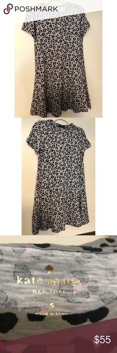 Kate Spade Dress or Tunic Size SMALL EUC Leopard This dress is so cute and perfect for dressing up or down with a pair of leggings. It is in amazing condition. Plus, it's Kate Spade! Wear and enjoy. kate spade Dresses Midi