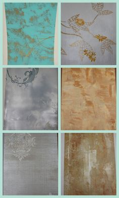 Faux Painting  Feed------------Blog on Furn Finishes Class1