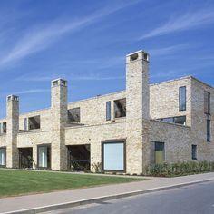 Accordia housing development by architects Feilden Clegg Bradley Studios, Alison Brooks Architects and Macreanor Lavington. Stirling Prize Winner 2008.