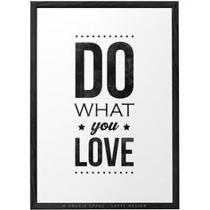 Quote print typography poster wall art inspirational print retro Do... (21 AUD) ❤ liked on Polyvore featuring home, home decor, wall art, retro home accessories, paper wall art, black & white wall art, word wall art and retro home decor