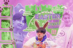 Era a primeira Páscoa de Jungkook como integrante da família Kim, e, para tal, seus pais fizeram desse um grande evento com caça aos ovos. Aquela acabou por se mostrar a melhor festividade, não só para o pequeno Jungkook, como para a família inteira. | Especial de Páscoa |